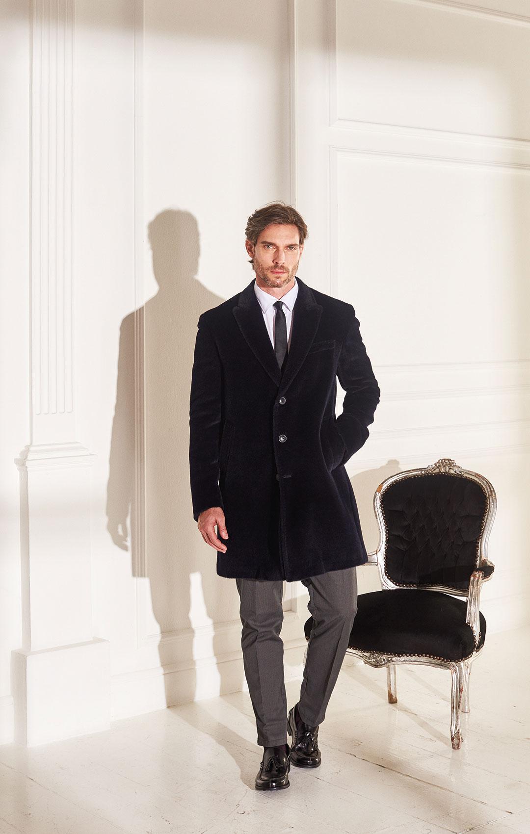 lenoci luxury - cappotto 100% alpaca spalla napoletana, Sartoriale