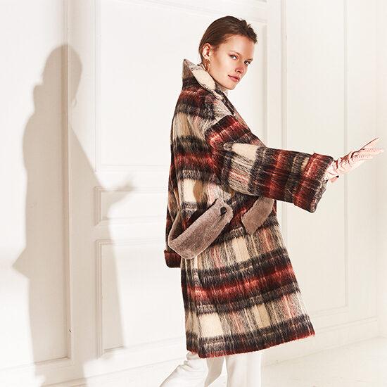 lenoci luxury - dettagli sharling montone cintura staccabile